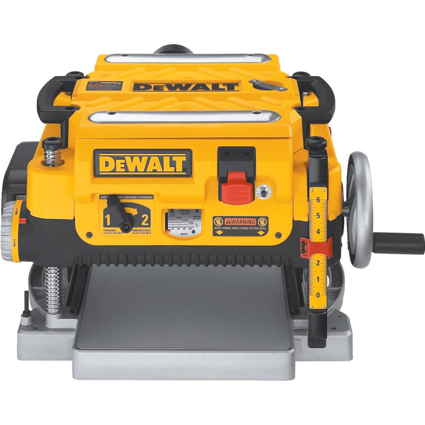 DeWalt 13 In. Three Knife Two-Speed Portable Planer Image 1