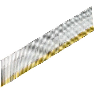 Grip-Rite 15-Gauge Galvanized 34 Degree DA-Style Angled Finish Nail, 2 In. (4000 Ct.)