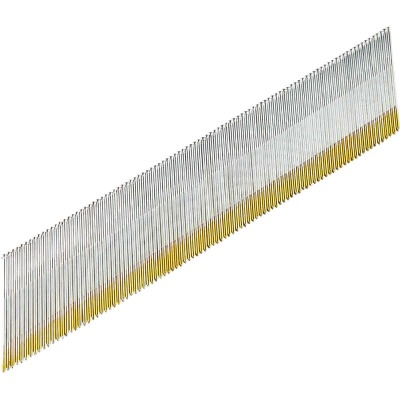 Grip-Rite 15-Gauge Galvanized 34 Degree DA-Style Angled Finish Nail, 2-1/2 In. (4000 Ct.)