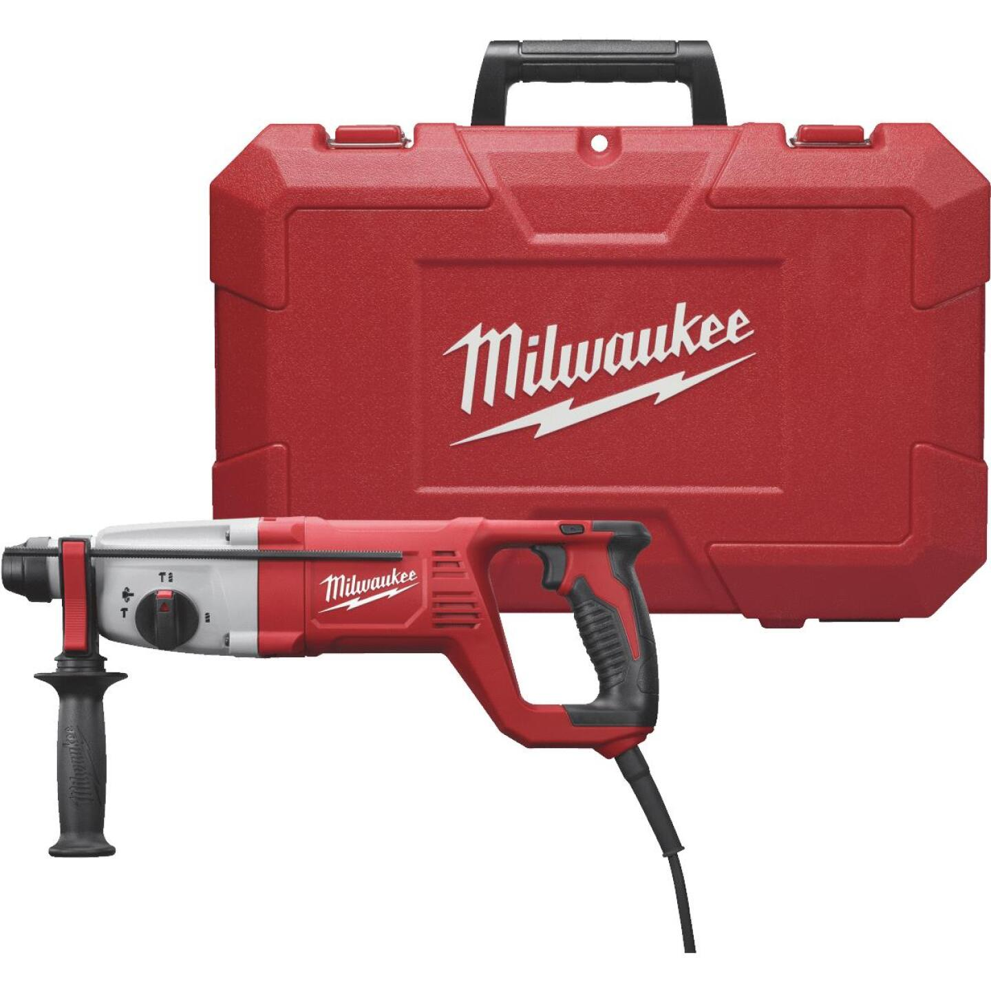 Milwaukee 1 In. SDS-Plus 8.0-Amp Electric Rotary Hammer Drill Image 1