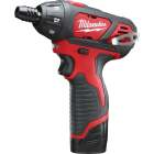 Milwaukee M12 12 Volt Lithium-Ion Compact Cordless Screwdriver Kit Image 1