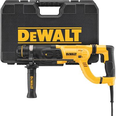 DeWalt 1 In. SDS-Plus Keyless 8.0-Amp Electric Rotary Hammer Drill