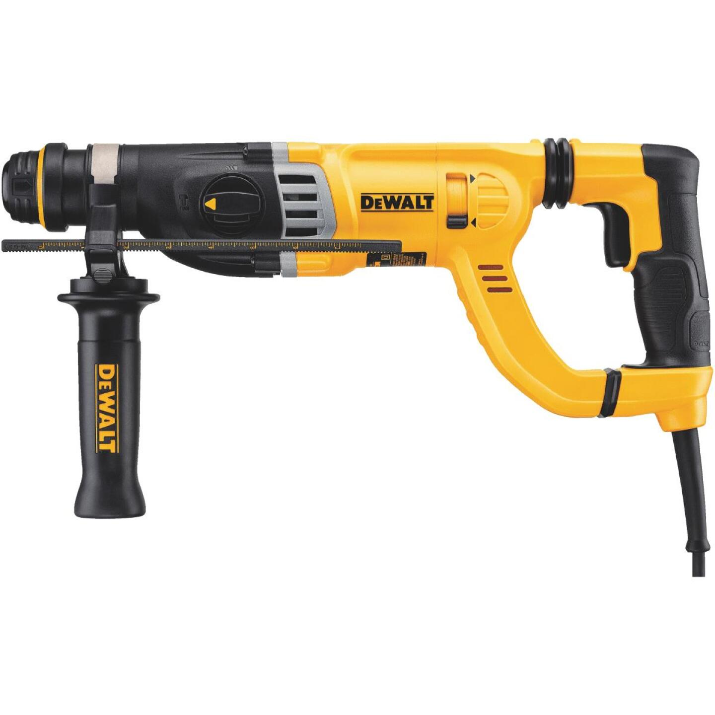DeWalt 1-1/8 In. SDS-Plus 8.5-Amp D-Handle Electric Rotary Hammer Drill Image 1