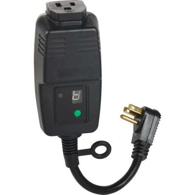 Do it 15A 120V 1800W Black Outdoor Timer