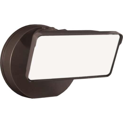 Halo Lumen Selectable Bronze Dusk To Dawn LED Floodlight Fixture