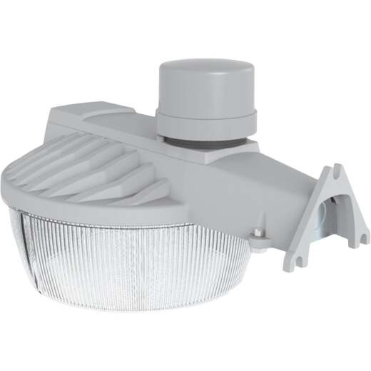 Halo Gray Dusk To Dawn LED Premium Outdoor Area Light, 10,000 Lm.