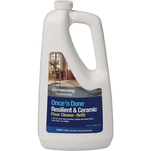 Armstrong Flooring Once 'N Done 1/2 Gal. Ready-To -Use Resilient & Ceramic Floor Cleaner Refill