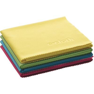 E-Cloth Glass & Polishing Cloths (4 Count)