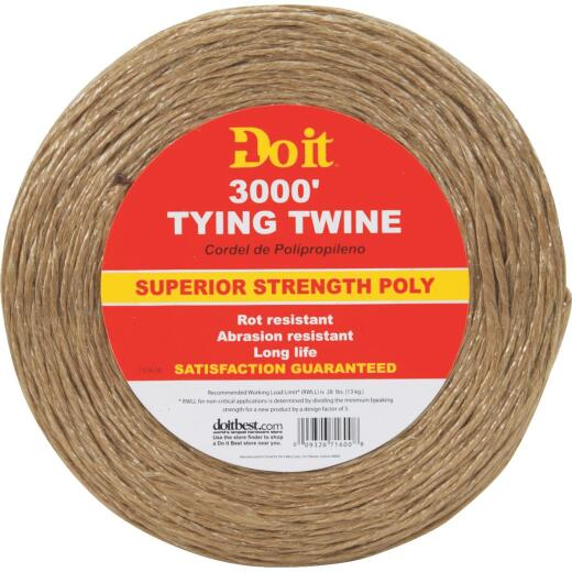 Do it 5/64 In. x 3000 Ft. Brown Polypropylene Tying Twine