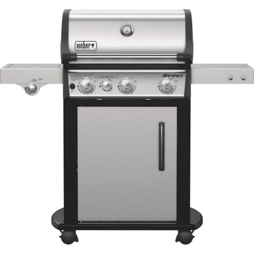 Weber Spirit SP-335 3-Burner Stainless Steel 32,000 BTU LP Gas Grill